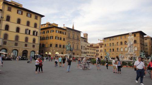 Praça della Signoria em Firenze