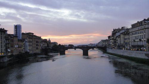 Pôr do sol em Firenze