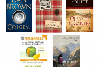 Excelentes livros para ler em uma viagem