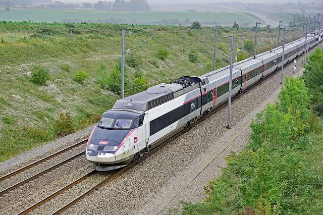 Trem da França