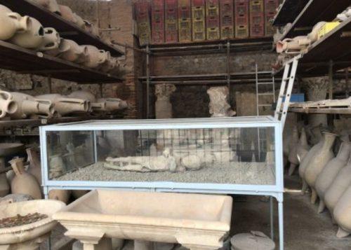 pessoas mortas em pompeia