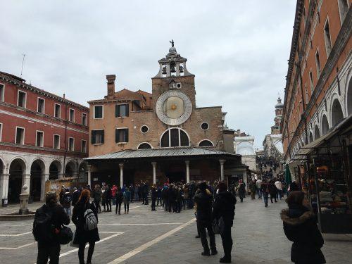 Arquitetura das ruas em Veneza