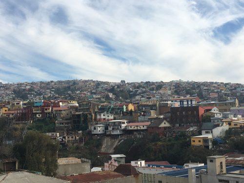 Mirantes do Cerro Alegre e Concepción em Valparaíso