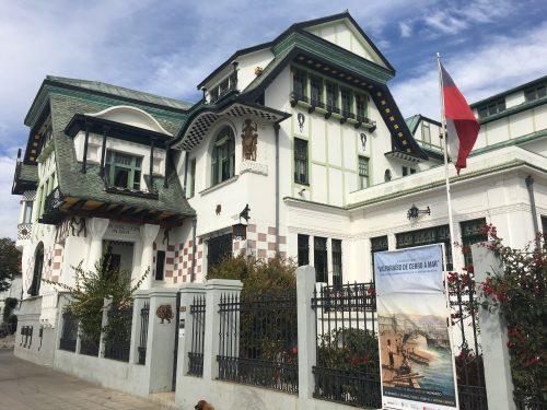 Museu e antiga residências do Pablo Neruda