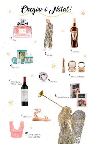 Produtos indicados para presentear no Natal
