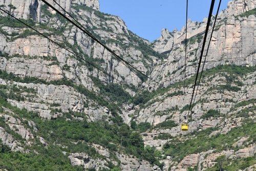 Teleférico na Catalunha