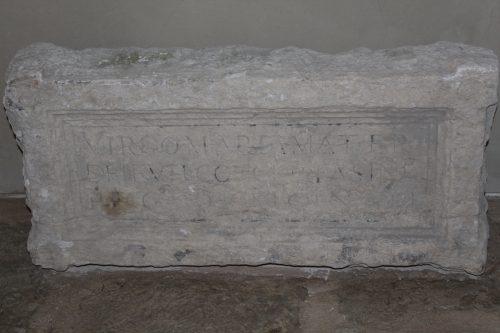 Peça do sítio arqueológico no Corpo Santo Lisboa
