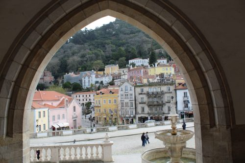 Um dia comum em Sintra