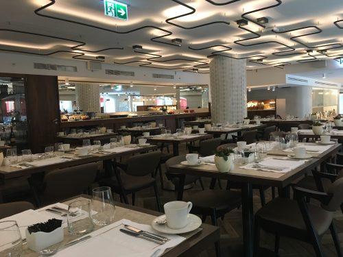 Restaurante do hotel Corpo Santo em Lisboa