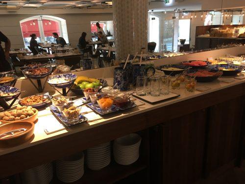 Café da manhã no hotel Corpo Santo Lisboa