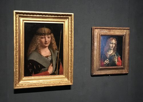 Obras do pintor Raffaello na Accademia Carrara