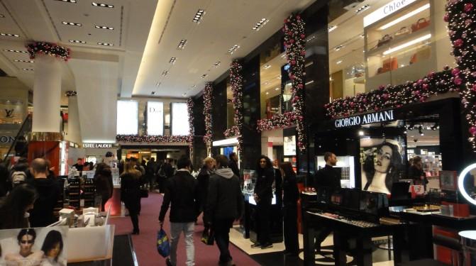 compras na europa: Interior da Rinascente