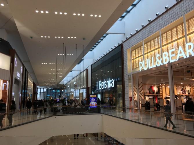 compras na europa: frente da Pull&Bear e Bershka