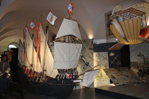 Decoração do museu Story Lisboa