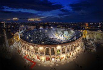 Arena de Verona: óperas e shows nas quatro estações do ano