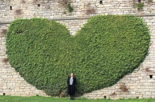 Coração no Muro Veneziano