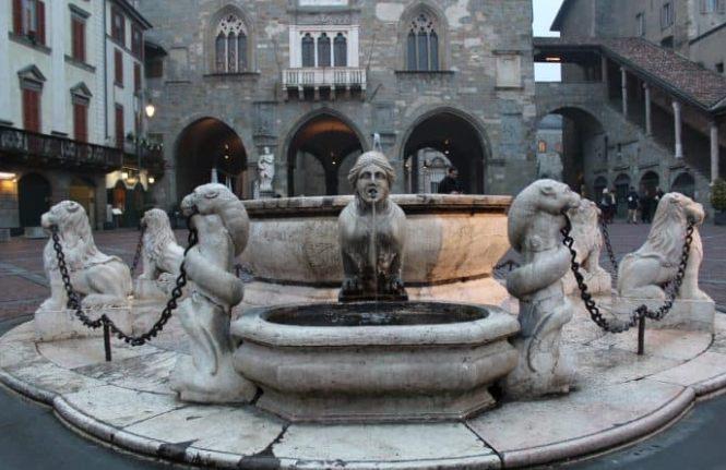 Fontana Contarini, em Bérgamo