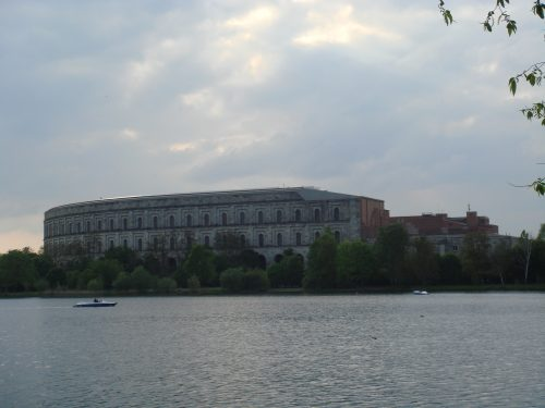 Paisagem do Campo Zeppelin em Nuremberg
