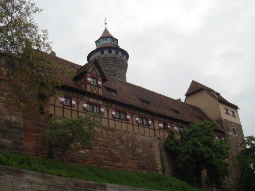 Castelo de Nuremberg, na Bavaria.