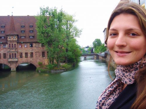 Rio Pegnitz em Nuremberg