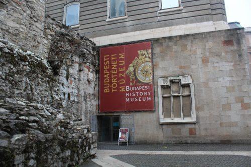 Entrada do Museu da História de Budapeste