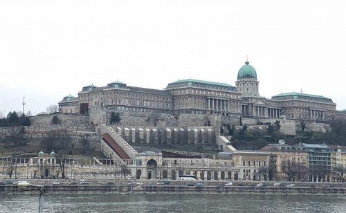 Castelo de Buda durante o dia