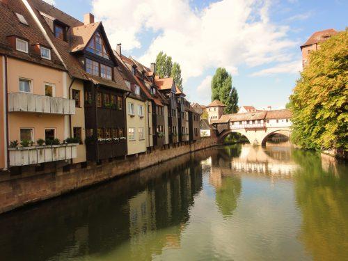 Cidade de Nuremberg, na Alemanha