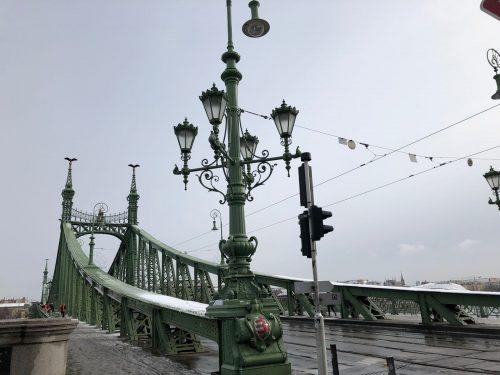 Ponte verde em Budapeste