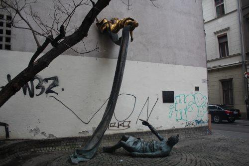 Monumentos no Distrito Judeu em Budapeste