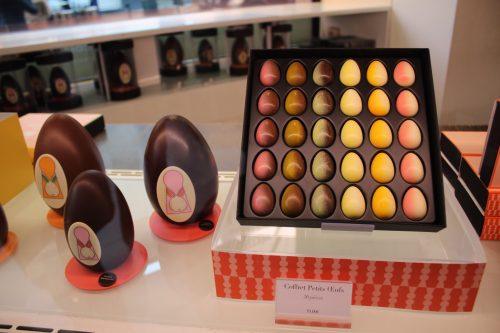 Ovos de chocolate da Pierre Marcolini em Bruxelas