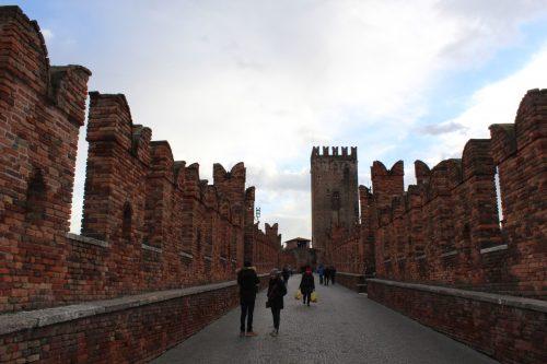 Ponte do Castel Vecchio em Verona