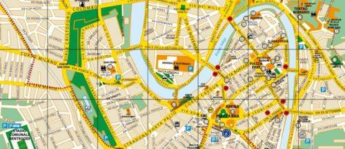 Mapa de Verona