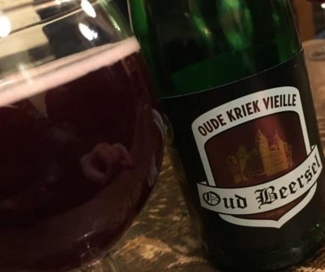 Cerveja Oud Beersel no Aux Vieux Temps