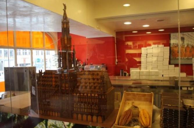 onde os belgas compram chocolate