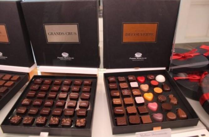 Chocolateria Pierre Marcolini em Bruxelas