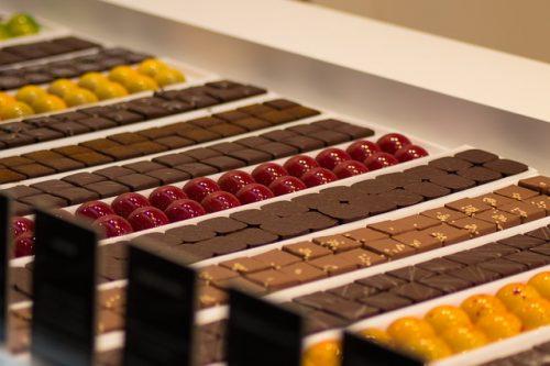 provar chocolate em Bruxelas