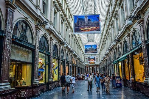 Galeries Royales Bruxelas