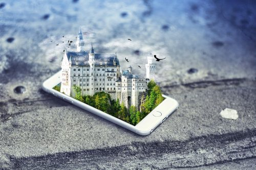 Imagem sobre o mundo no celular