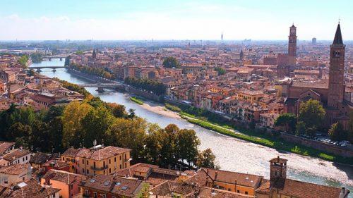 Como é a cidade de Verona