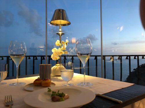 Restaurante Li Galli e o Mediterrâneo em Positano