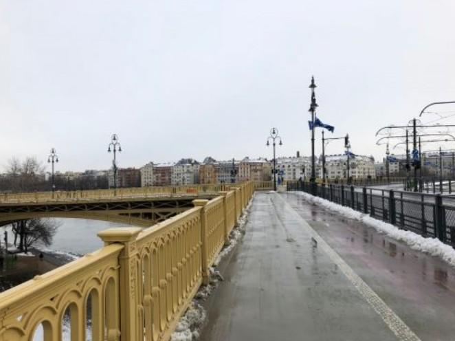 Ponte que dá acesso à Ilha Margarida