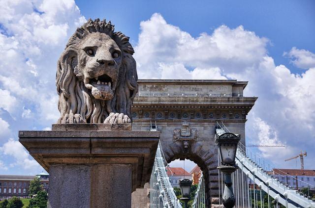 Ponte Chain em Budapeste
