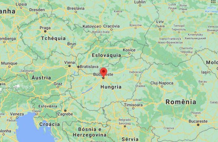 Mapa Budapeste