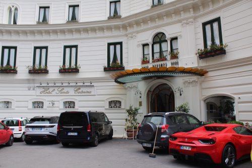 Exterior do hotel Santa Caterina em Amalfi