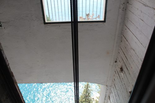 Elevador panorâmico com vista para o Mediterrâneo em Amalfi