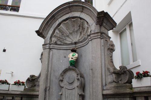 Manneken Pis e o Saint Patrick's day em Bruxelas