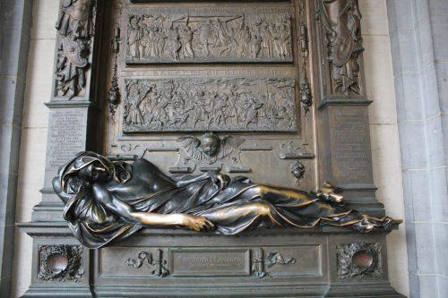 Estátua Everard´t Serclaes em Bruxelas