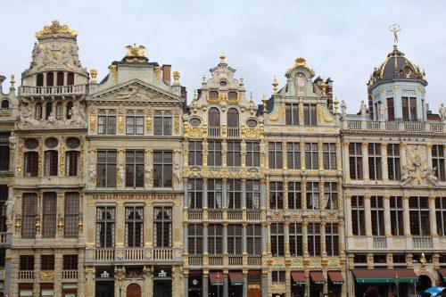 Arquitetura dos prédios da Grand´ Place