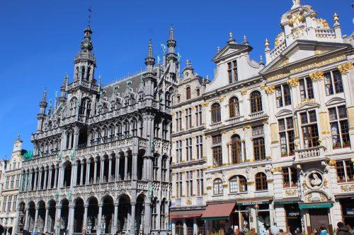 Prédios na Grand´ Place em Bruxelas