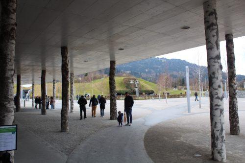Entrada da Swarovski Crystal Worlds na Áustria